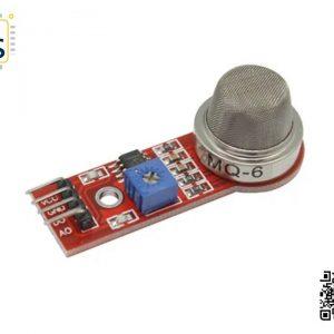MQ-6 Liquefied Isobutane Propane LPG Sensor Module