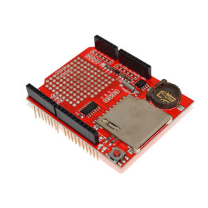 Data Logging Shield with SD Card Slot and Real Time Clock