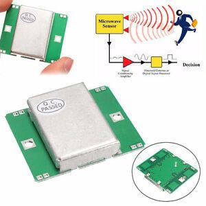 HB100 Doppler Radar Microwave Motion Sensor