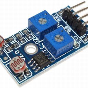 2 Channel Light Dependent Resistor Sensor Photosensitive Resistance Sensor