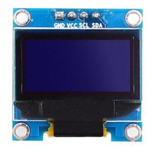 0.96 Inch Blue I2C IIC OLED LCD Module 4pin LAF-B011 0