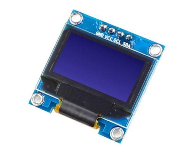 0.96 Inch Blue I2C IIC OLED LCD Module 4pin LAF-B011 2