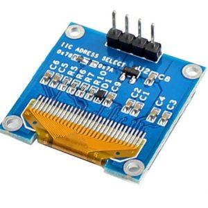 0.96 Inch Blue I2C IIC OLED LCD Module 4pin LAF-B011 3