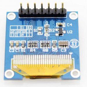 0.96 Inch Blue I2C IIC OLED LCD Module 4pin LAF-B011
