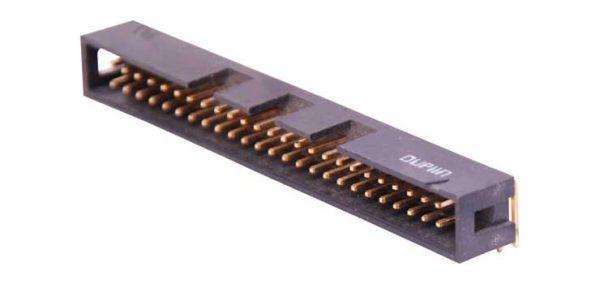 Boxed Header 60 Pin Right Angle PCB Mount