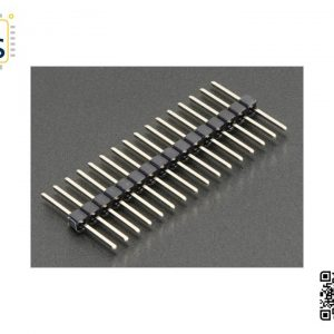 Male Header 16Pin Straight 2.54mm 8.8mm one side 5 pack