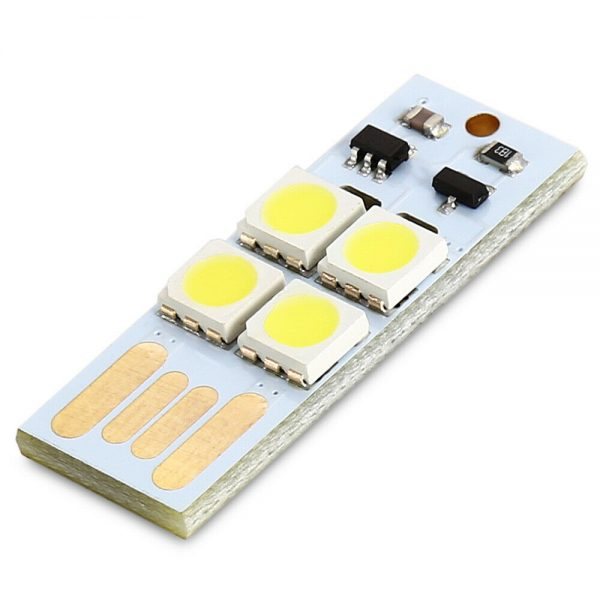 0.5W mini USB LED Touch Light With light operated touch switch