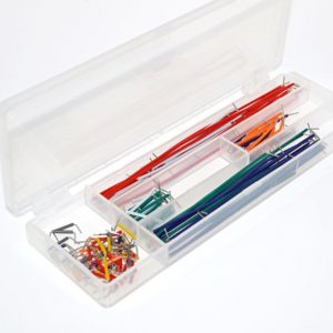 140 Pcs Solderless Breadboard Jumper Cable Wire Kit 0