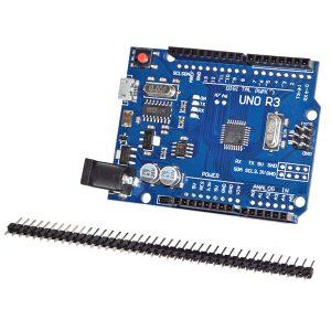 Arduino UNO R3 ATmega328P CH340G Micro USB Connector