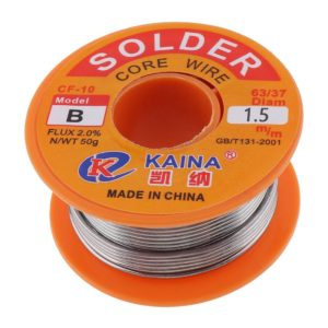 Solder Wire 0.5mm to 1.0mm -14g to 100G 63/37 rosin core solder
