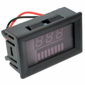 12-60V / 72V Charge Level Indicator Voltmeter Lithium/Lead-acid Battery