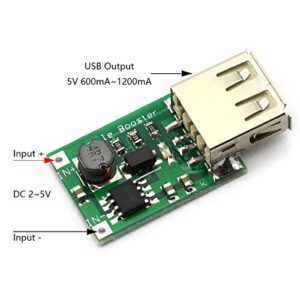 1200MA Boost DC-DC Step-up Transformer 5V Power Supply Module