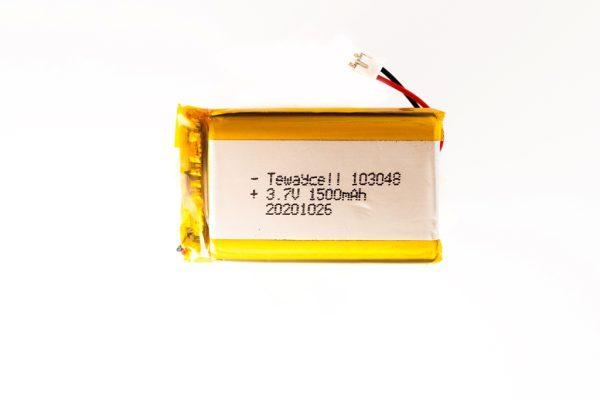 103048 Lithium ion polymer Battery (LiPo) 103048 (3.7V 1500mAh)