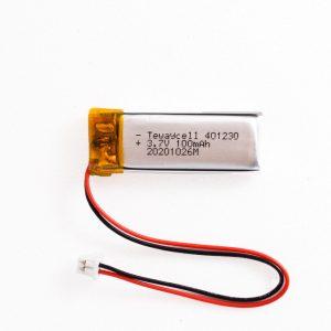 Lithium ion polymer Battery (LiPo) 401230 (3.7V 100mAh)
