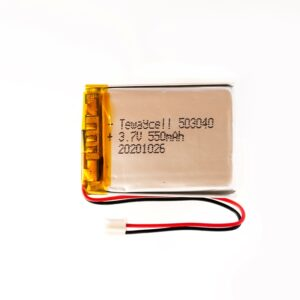 503040 Lithium ion polymer Battery (LiPo) (3.7V 550mAh)