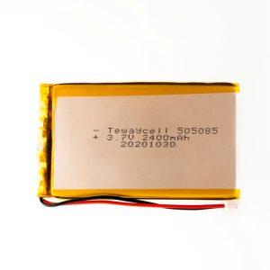 505085 Lithium ion polymer Battery (LiPo) (3.7V 2400mAh)
