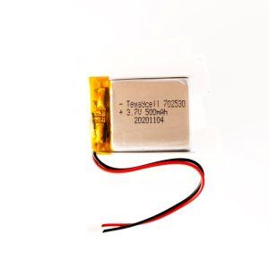 702530 Lithium ion polymer Battery (LiPo) (3.7V 500mAh)