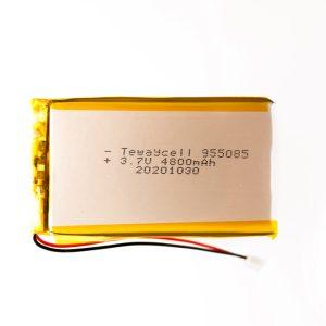 Lithium ion polymer Battery (LiPo) 955085 (3.7V 4800mAh)