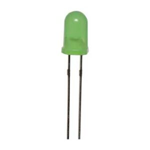 Green 50mcd 5mm Flashing LED