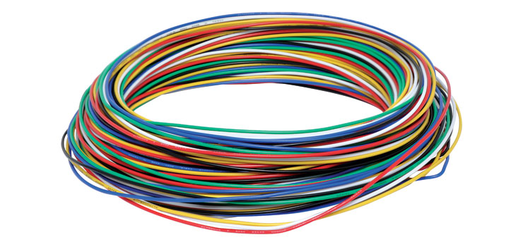 Solid Core 0.5mm 6 Colour Hobby Wire Pack
