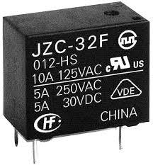 5VDC SPST-NO 10A JZC-32F/024-ZS3(555)