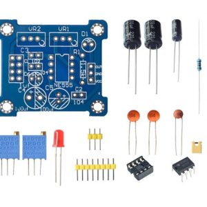 NE555 Pulse Generator Duty Cycle and Frequency Adjustable Module DIY Kit