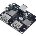 2CH USB QC3.0 QC2.0 DC-DC Buck Converter Charging Module