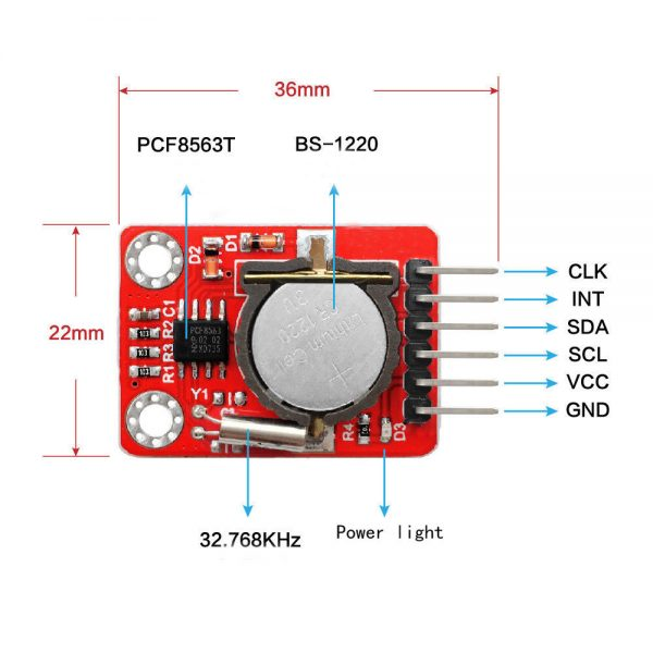PCF8563 RTC Real time Clock