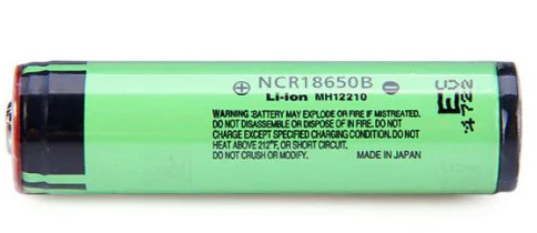 Panasonic NCR18650-B 3400mAh