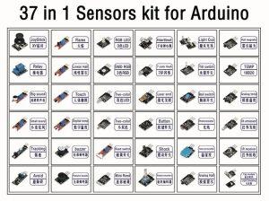 37 in 1 Sensor Module Shield Starter Kit list