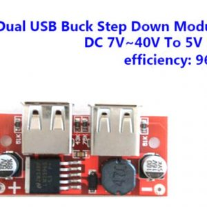 Dual USB 5V DC-DC LM25961