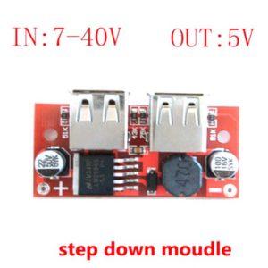 Dual USB 5V DC-DC LM25962