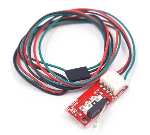 Endstop Mechanical Limit Switch RAMPS 1.4 Fit for 3D Printer Red with Cable