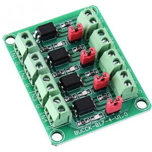 PC817 4 Channel Optocoupler Module1