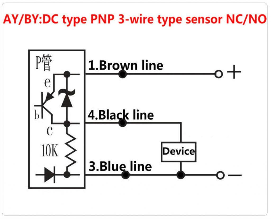PNP 3 wire setup