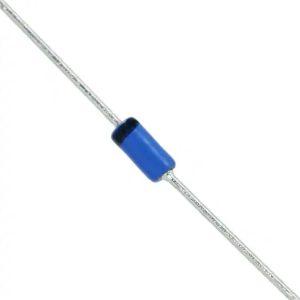 BAT46 Small Signal Schottky Diode, Single, 100 V, 150 mA, 450 mV, 750 mA, 125 °C
