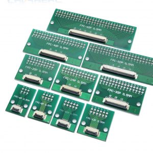 FFC / FPC Adapter Board 0.5mm/1mm to 2.54mm Soldered Connector